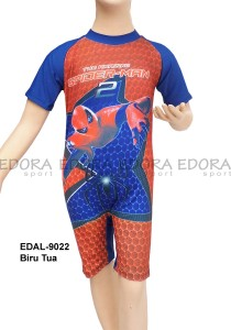 EDAL-9022 Biru Tua-baju diving renang edora anak