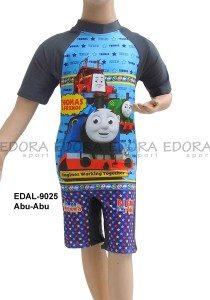 Baju Renang Diving Karakter EDAL-9025 Abu-Abu