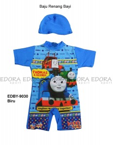 EDBY-9030 Biru-jual baju renang bayi gambar
