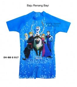 DV-BB G 017-koleksi baju renang diving bayi