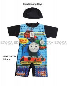 EDBY-9030 Hitam-pusat grosir baju renang bayi