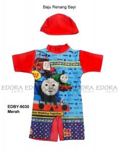 EDBY-9030 Merah-toko grosir baju renang diving bayi