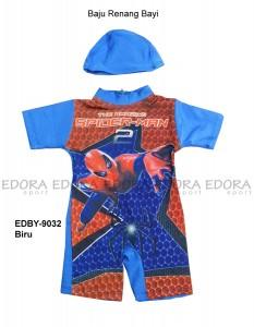 EDBY-9032 Biru-pusat beli busana renang bayi
