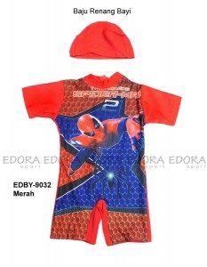Baju Renang Bayi EDBY-9032 Merah