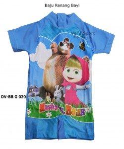 Baju Renang Bayi Karakter DV-BB G 020