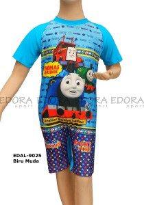 Baju Renang Diving Karakter EDAL-9025 Biru Muda