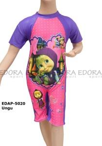 EDAP-5020 Ungu-edora sport busana renang anak cewek diving
