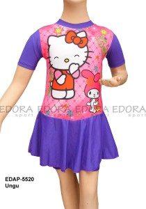 Baju Renang Diving Anak EDAP-5520 Ungu