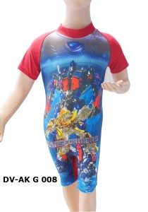 Baju Renang Diving Anak Karakter DV-AK G 008