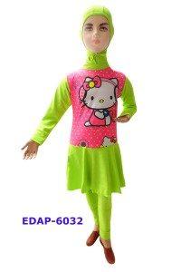 Baju Renang Anak Muslimah Karakter EDAP-6032