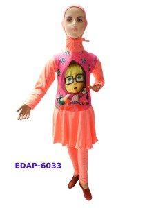 Baju Renang Anak Muslimah Karakter EDAP-6033 Salem