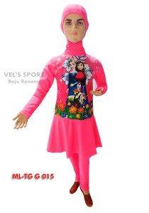 Baju Renang Anak Muslimah Karakter ML-TG G 015