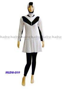 Baju Renang Muslimah Dewasa ML-DW 019 (2 Warna)