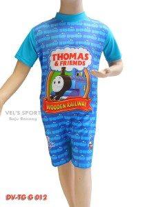 Baju Renang Diving Anak Karakter DV-TG G 012 (Biru)