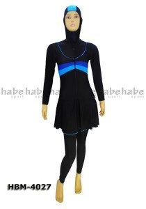 Baju Renang Muslimah HBM-4027 (2 Warna)