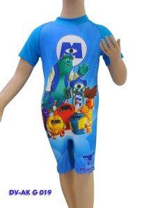 Baju Renang Diving Anak karakter DV-AK G 019