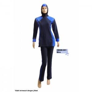 Baju Senam Muslimah HBSM-001 (4 Warna)