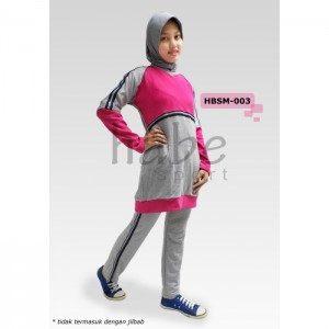 Baju Senam Muslimah HBSM-003