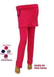 Celana Senam Perempuan HCSM-01 (4 Warna)