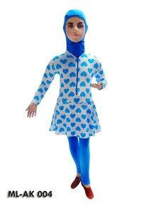 Baju Renang Anak Muslim Perempuan ML-AK 004