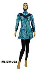 Baju Renang Muslimah ML-DW 022