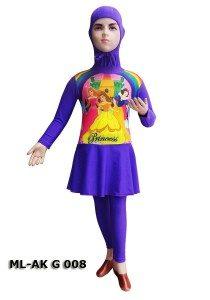 Baju Renang Anak Muslimah Karakter ML-AK G 008