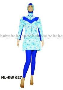 Baju Renang Muslimah ML-DW 027