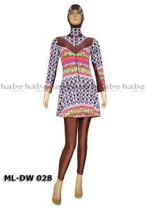 Baju Renang Muslimah ML-DW 028