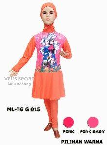 Baju Renang Anak Muslimah ML-TG G 015 (3 Warna)