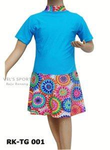 Baju Renang Diving Rok Anak Perempuan RK-TG 001