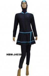 Baju Renang Muslimah HBM- J4038