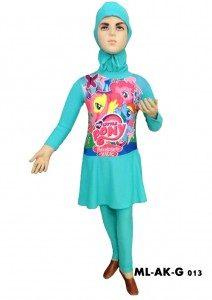 Baju Renang muslim Anak ML-AK-G 013