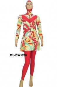 Baju renang Muslimah ML-DW 036