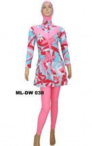 Baju Renang Muslimah ML-DW 038