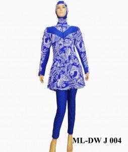 Baju Renang Muslimah ML-DW J 004