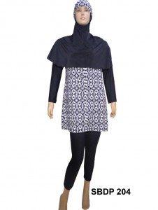 Baju Renang Muslimah SBDP 204
