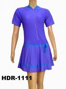 Baju Renang Semi Cover Dewasa HDR-1111