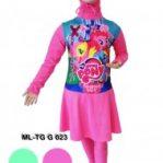 Baju renang anak muslimah karakter ML-TG G 023
