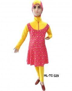 Baju renang anak muslimah ML-TG 029