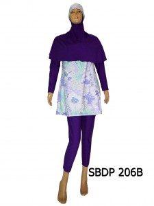 Baju Renang Muslimah SBDP 206B