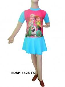 Pakaian renang diving rok EDAP-5526