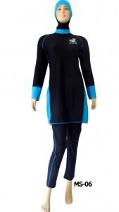 Baju renang muslimah model Premium MS-06