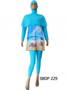 Baju Renang Muslimah SBDP 229