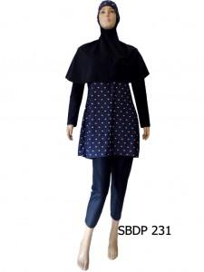 Baju Renang Muslimah SBDP 231