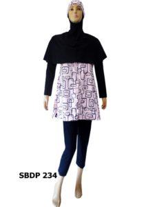 Baju Renang Muslimah SBDP 234