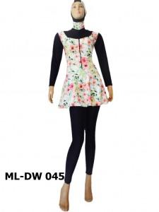 Baju renang muslimah dewasa ML-DW 045