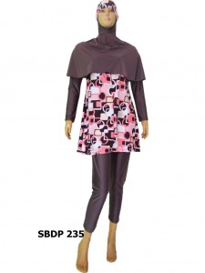 Baju Renang Muslimah SBDP 235