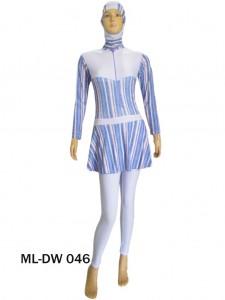Baju renang muslimah dewasa ML-DW 046