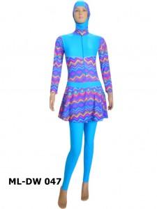 Baju renang muslimah dewasa ML-DW 047