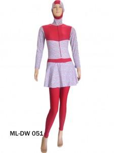Baju renang muslimah dewasa ML-DW 051